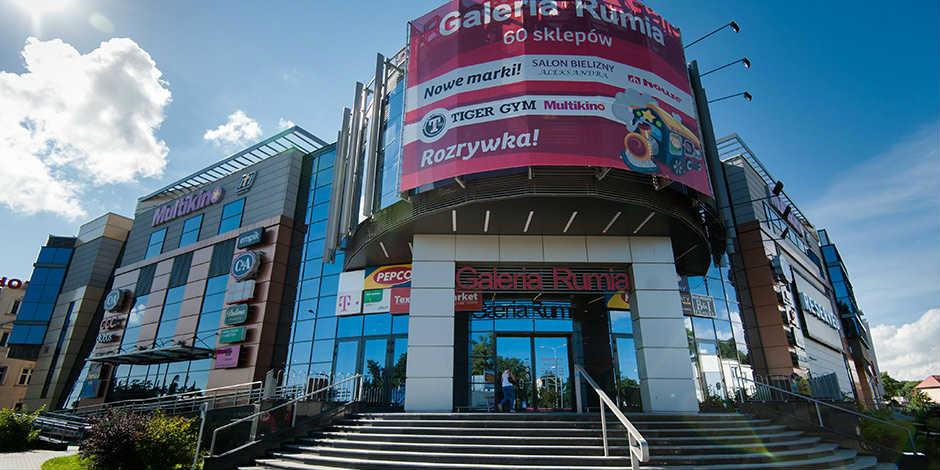 Galeria Rumia, centrum handlowe, historia rumi, kartka z kalendarza, blog, opis, informacje, utworzenie
