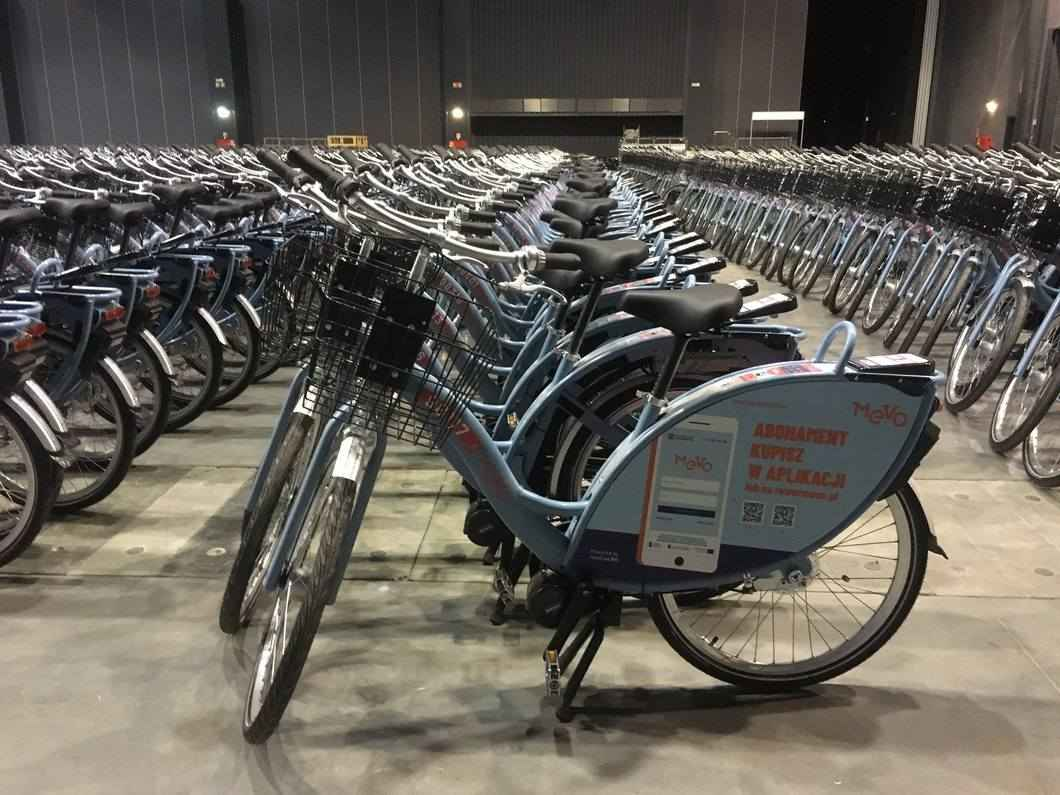 mevo, rumia, 2019, rower metropolitarny