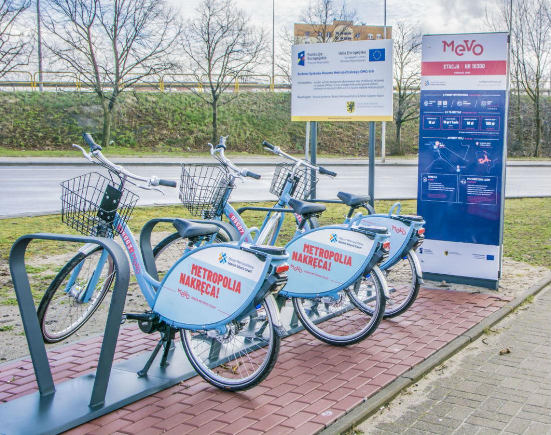 rumia mevo, rower metropolitarny, inwestycja, wydarzenie, stacje rowerowe, wypozyczanie rowerow