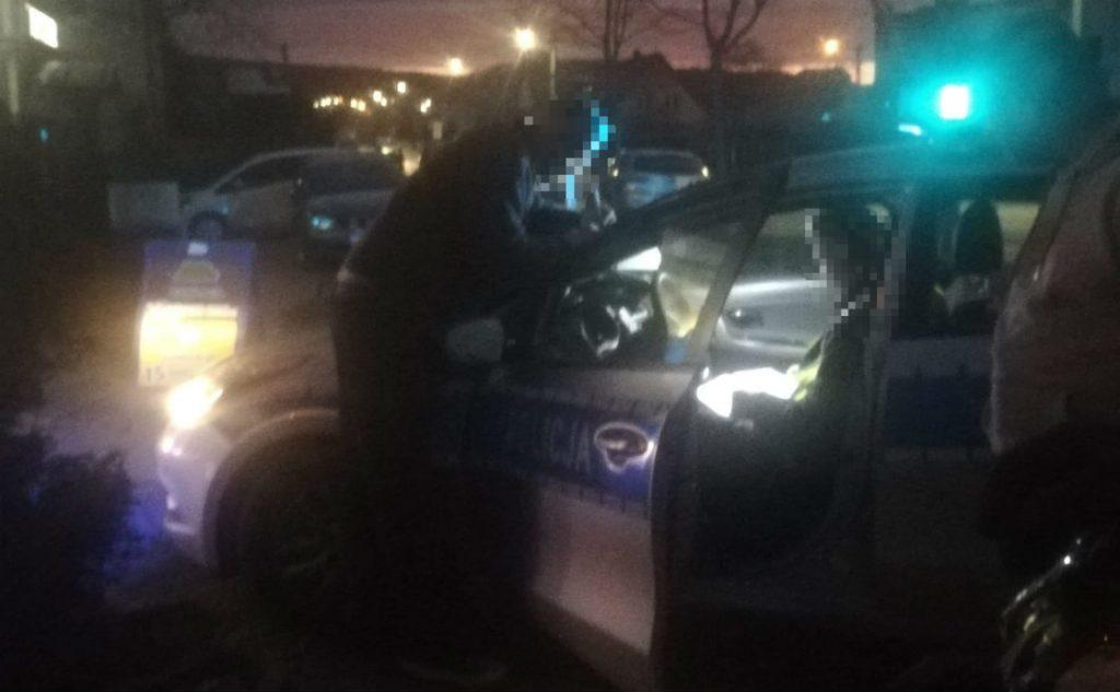 Kolizja przy ul. Ceynowy. Jeden z kierowców był nietrzeźwy i nie posiadał prawa jazdy.