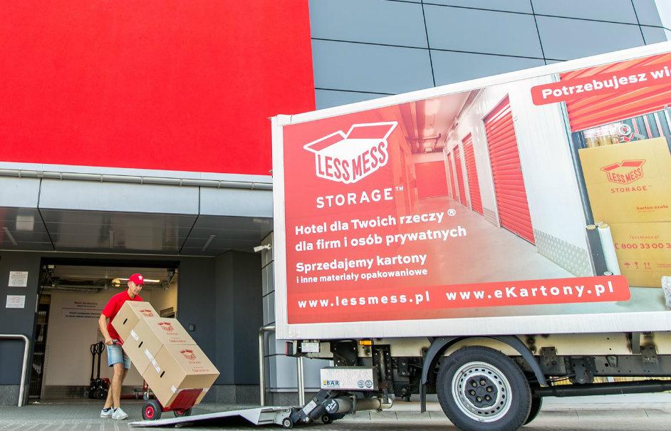 magazyn less mess storage rumia, magazyn samoobslugowy, rumia, inwestycje, budowa, hotel business faltom, sobieskiego