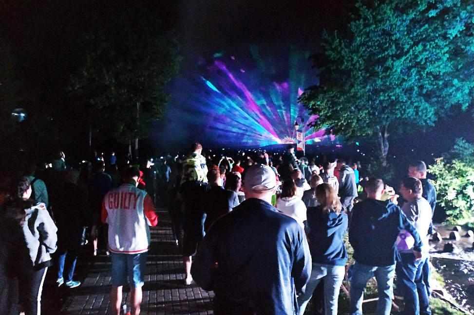Festiwal Światła i pokazy laserowe. Trwa akcja Lipiec w Rumi!