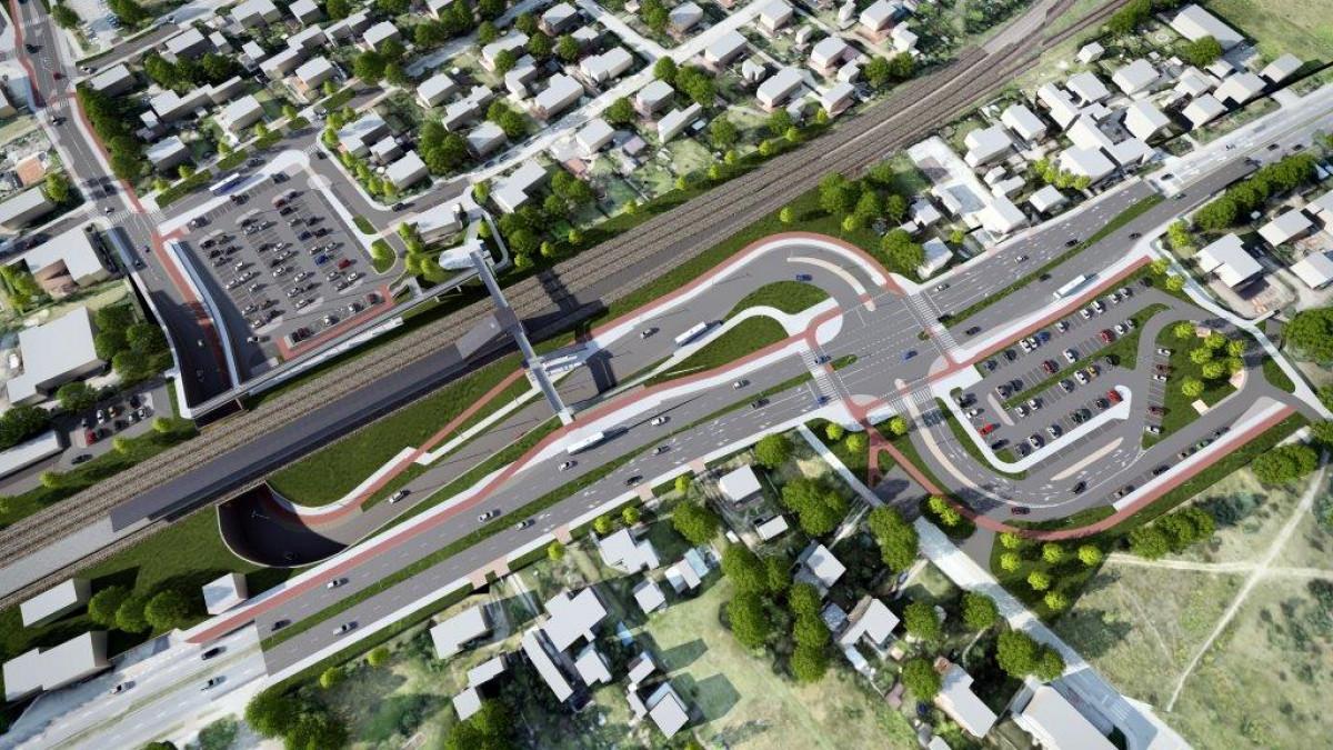węzeł integracyjny rumia janowo inwestycja budowa przetarg tunel w janowie