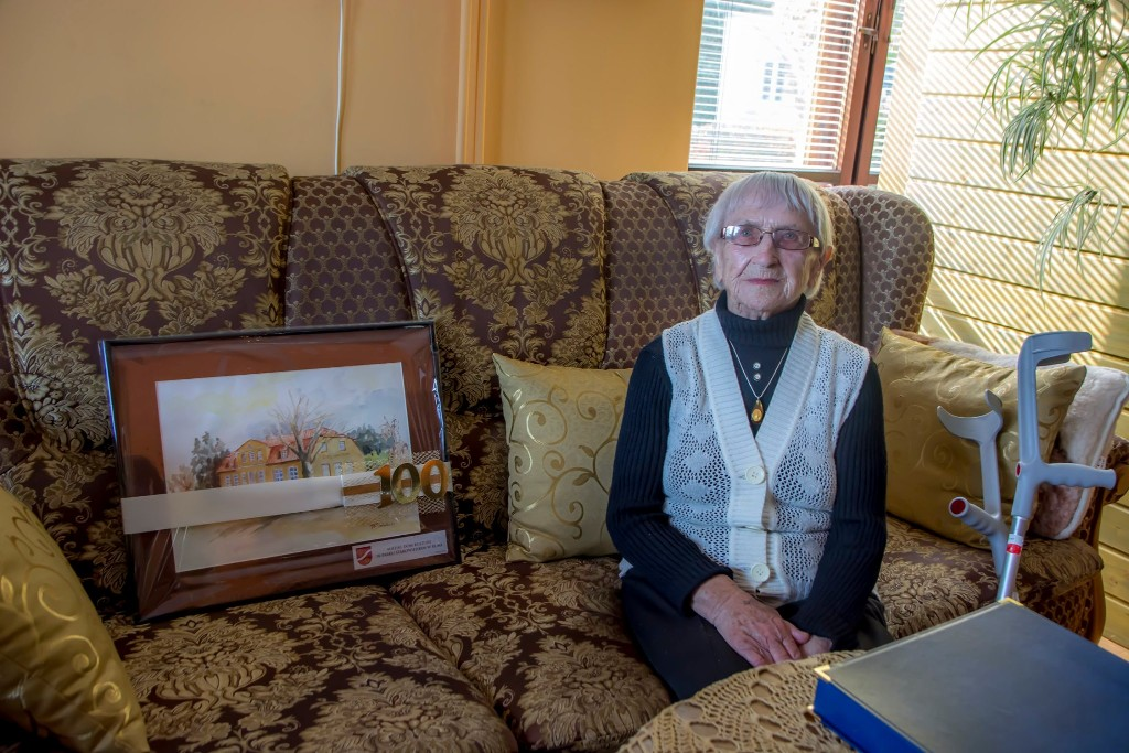 Rumia Najstarsza mieszkanka rumi 100 lat urodziny