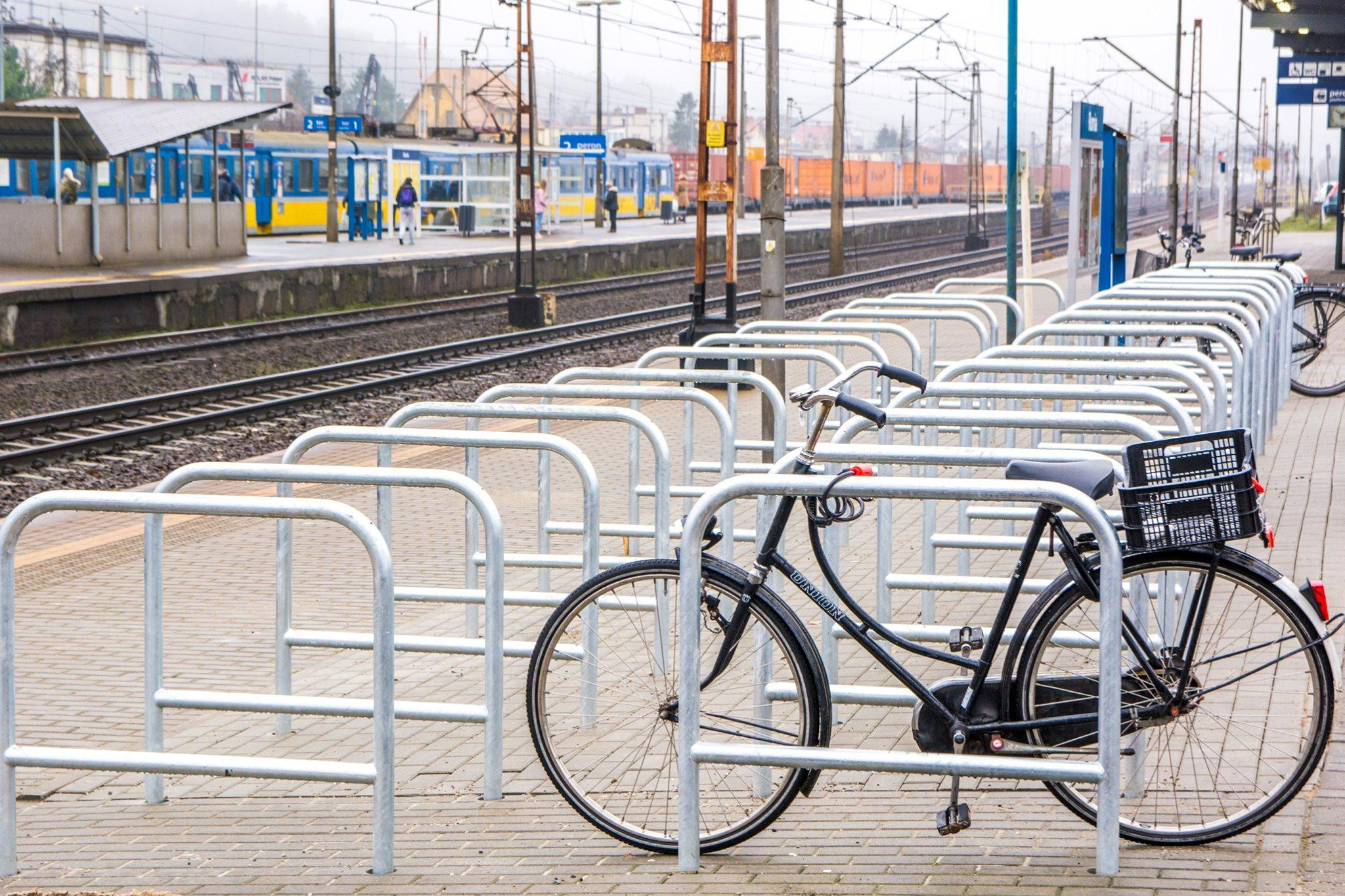 rumia nowe stojaki rowerowe