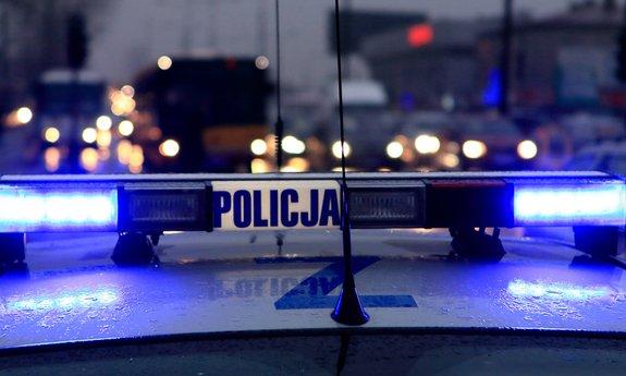 rumia pobicie policja