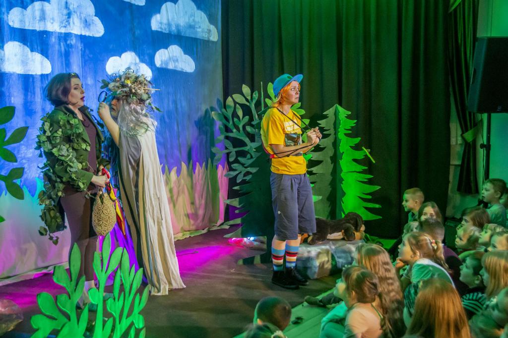 Dyzio w krainie wyobraźni mdk rumia spektakl dla dzieci