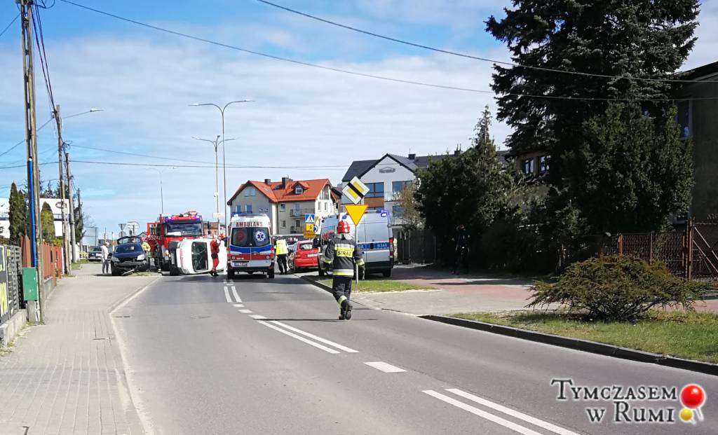 Niebezpieczne zdarzenie na ul. Ceynowy