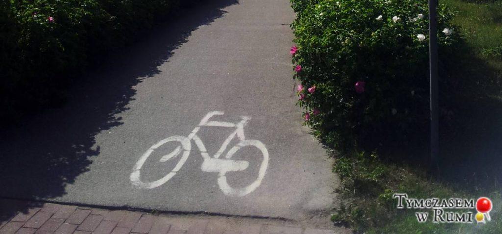 Ścieżki rowerowe w Rumi (Problemy mieszkańców)
