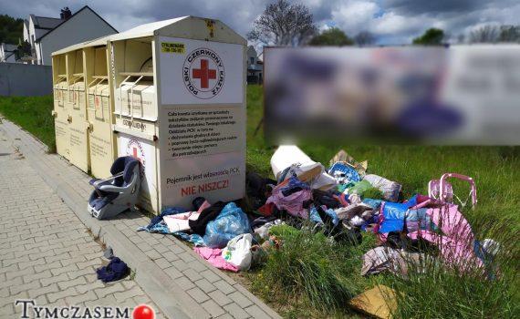 kontenery na ubrania rumia tymczasem w rumi blog pawel jaloszewski