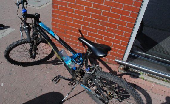 potracenie przez rowerzyste rumia tymczasem w rumi maj 2020