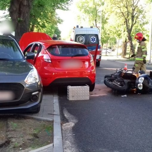 wypadek zwirki i wigury rumia motocykl motocyklista rumia wiadomosci informacje tymczasem w rumi