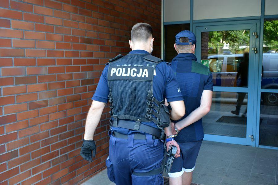 Policja zatrzymała złodzieja rowerów z Rumi