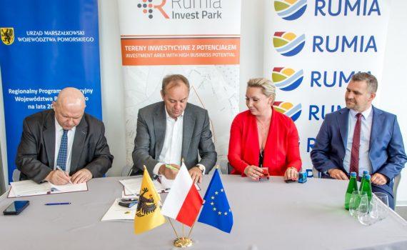 rumia dofinansowanie invest park 2020 inwestycje 2
