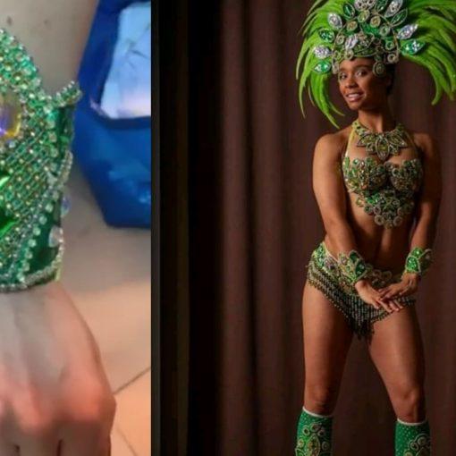 zaginiona bransoletka opaska samba tancerka rumia czerwiec lipiec 2020