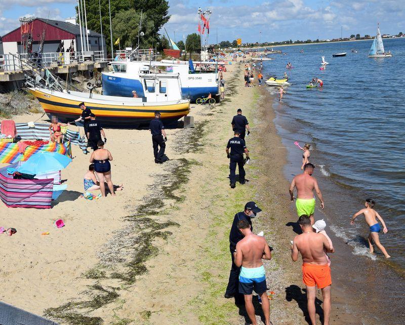 """Akcja """"Plaża"""". Policjanci odwiedzają nadmorskie kurorty!"""