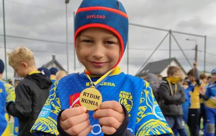 Regionalny Turniej Rugby dla Dzieci i Młodzieży w Rumi