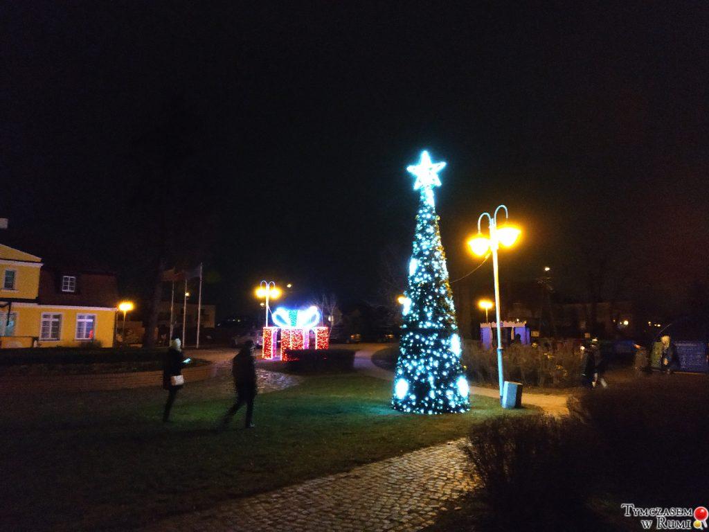 Świąteczne iluminacje i ozdoby w Rumi [ZDJĘCIA]