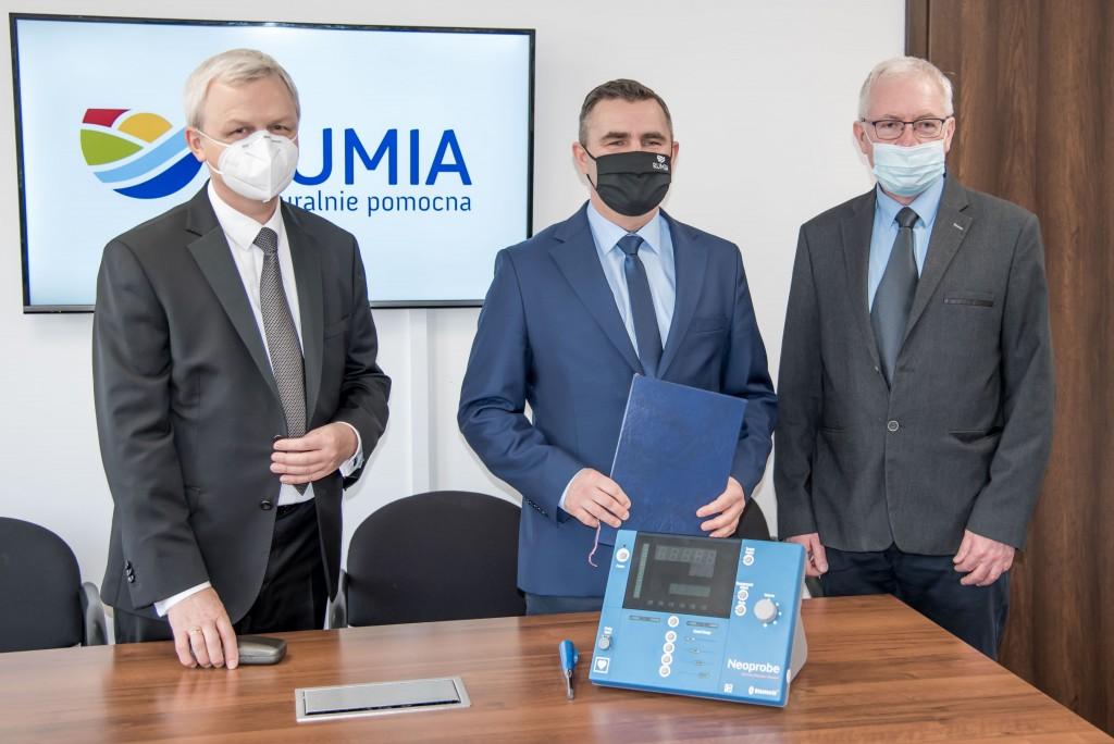 Nowa gammakamera dla Wejherowskiego szpitala. Rumia dołożyła środki