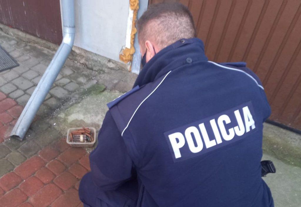 Rumia. Policja zabezpieczyła 400 sztuk amunicji