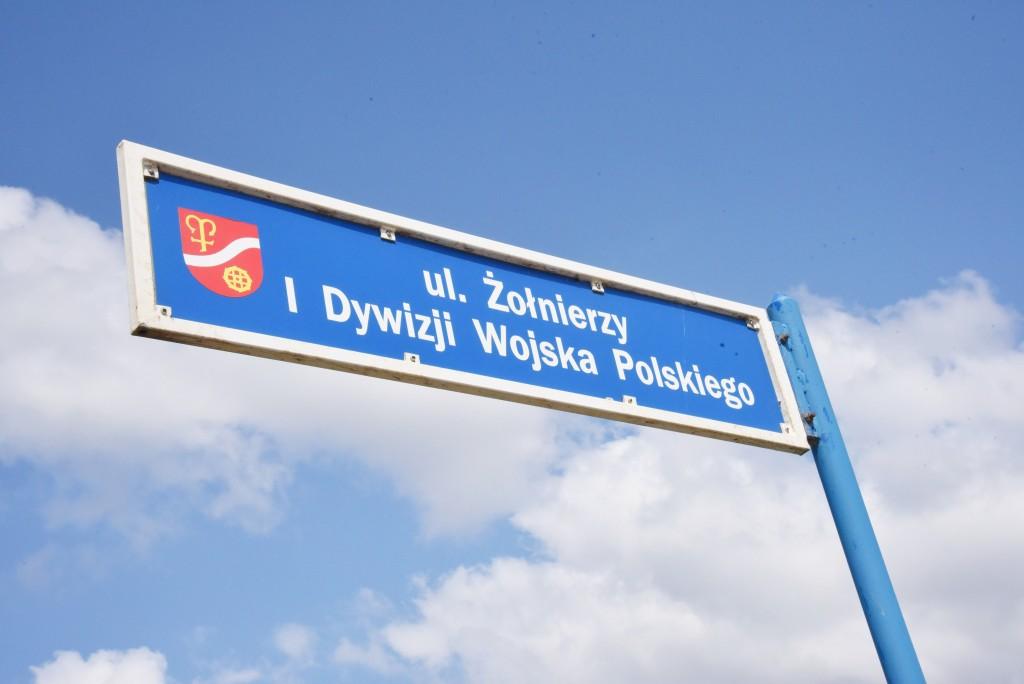 Ścieżka rowerowa na ul. Żołnierzy I Dywizji Wojska Polskiego. Trwają kolejne prace