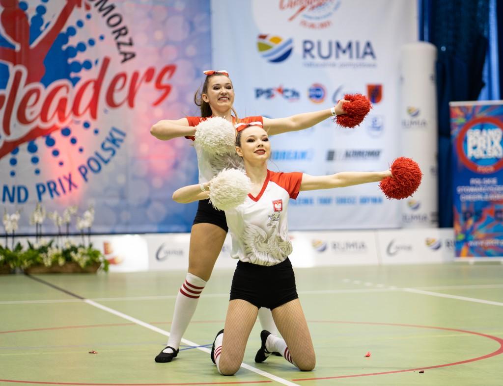 Cheerleaderki na hali MOSiR Rumia. Ponad 500 zgłoszeń!