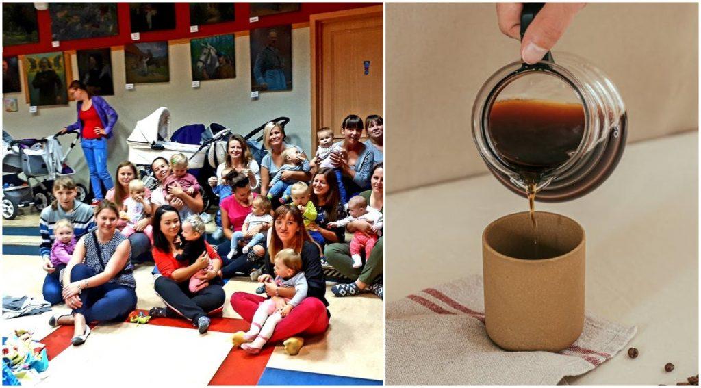 Spotkania dla rodziców w Rumi, przy filiżance kawy