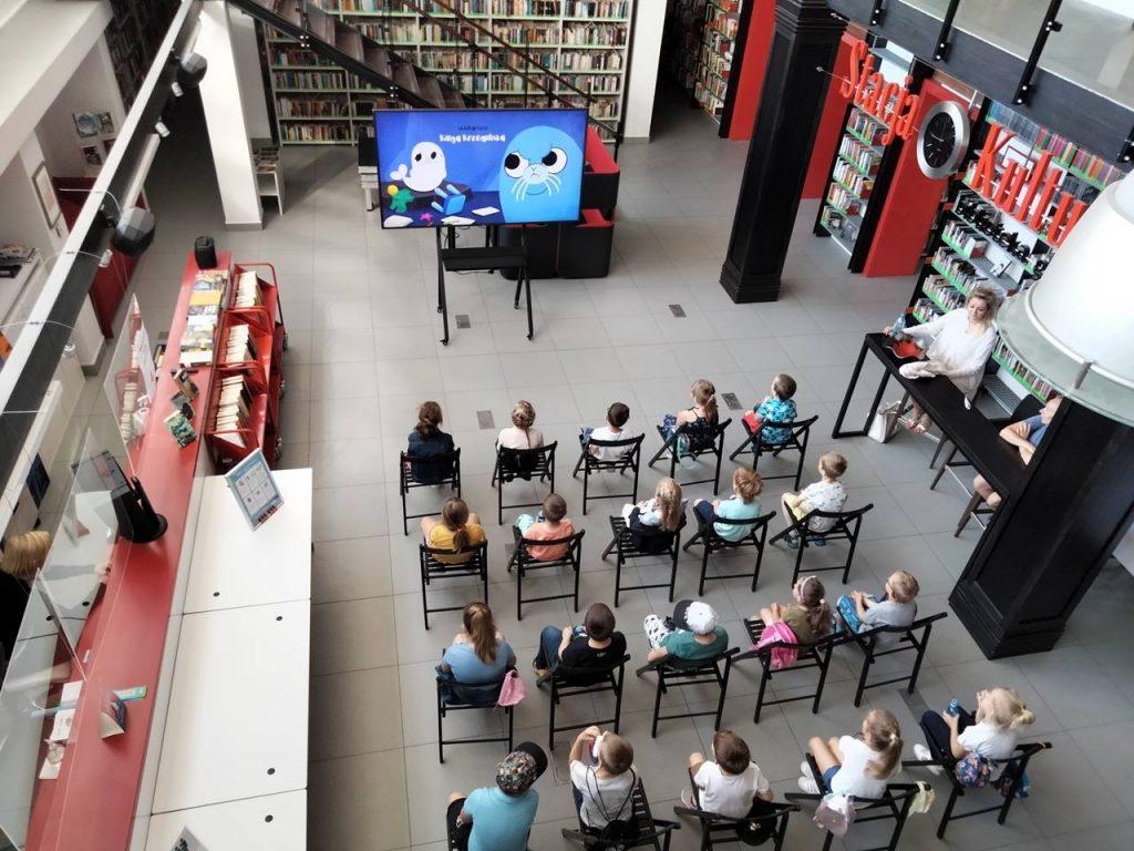Filmy animowane w Stacji Kultura w Rumi