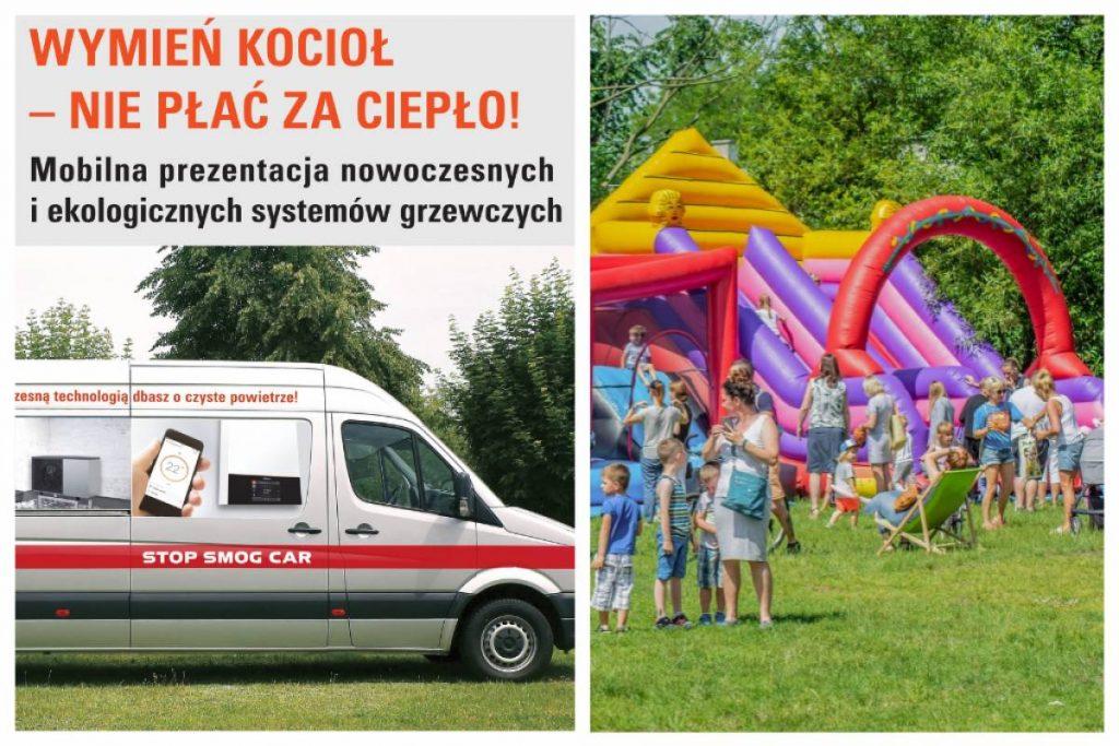 Spotkanie informacyjne i minifestyn w Parku Starowiejskim w Rumi