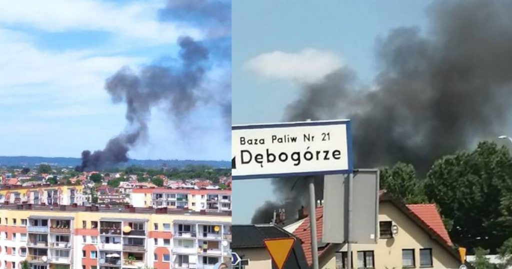 Pożar domu przy ul. Kościelnej w Rumi  [AKTUALIZACJA]