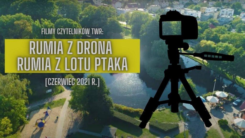 Rumia z drona, w 4K. Wygląda pięknie! [WIDEO]