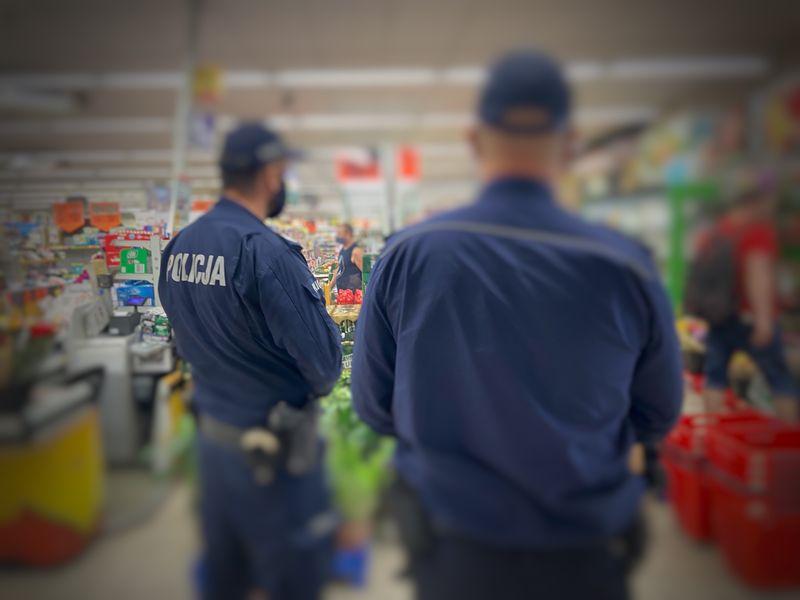 Kontrole policji w związku z COVID-19