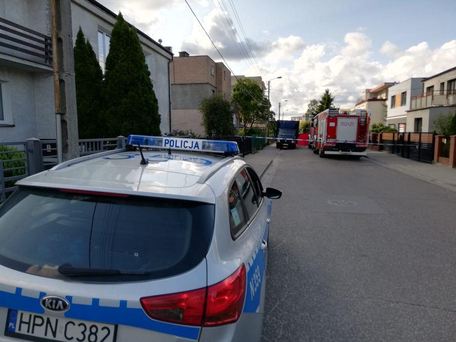 Śmiertelny wypadek motocyklisty na ul. Roszczynialskiego w Rumi